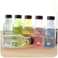 plastic sealed cup leak-proof portable soda bottle