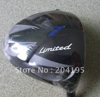 1 PC Limited R Golf Driver 9.5/10.5 Loft with Graphite Shaft R/S Flex Free Headcover and freeshipping