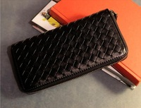 2013 new female bag wholesale woven figured packet hand bags hand caught much pocket wallet card bag