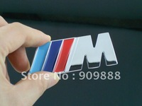 3D Metal Emblem Grill Badge Car Logo For BMW M-Power M3 E90 E60 E46 E92 E39