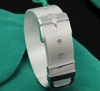 wholesale silver watch wrist   bracelet ,925 sterling silver jewelry.  b31