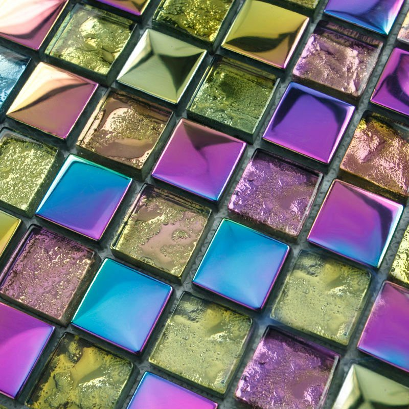 Popular Glass Mosaic Tiles for Crafts from China best-selling Glass