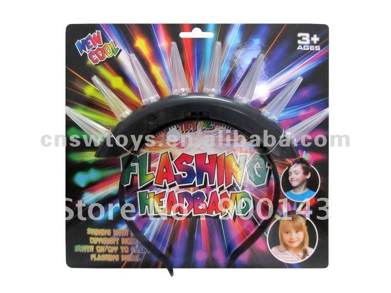 8 Led light Flashing Hairwear Hot sale party toys JR4600688(China (Mainland))