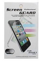 Mirror Screen Protector with Cleaning Cloth for iPhone 5