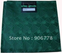 high quality army green color  Hayes swiss mode net head tie matching with lace fabric for party
