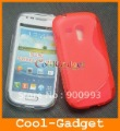 S Line Soft Rubber TPU Gel Skin Case Cover for Samsung Galaxy S3 S III mini I8190 100pcs  Free Shipping I8190C01