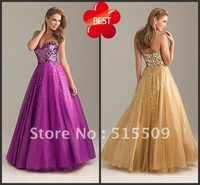 Hot Sale! Organza Quinceanera Dresses Sweetheart Ball Gown Shinning Sequins Debutante Dresses