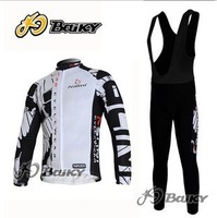 2012    Nalini   Best Selling Winter Fleece/Thermal Cycling Jerseys+Bib Pant Set/Cycling Wear/Gar Bikling Clothing/Cycle