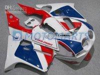 red blue fairing kit FOR Honda CBR250RR MC19 1987 1988 1989 CBR 250 RR 87 88 89 CBR250 &windscreen