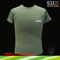 5.11 outdoor quick-drying t-shirt round neck T-shirt quick-drying viscose t-shirt short-sleeve moisture wicking