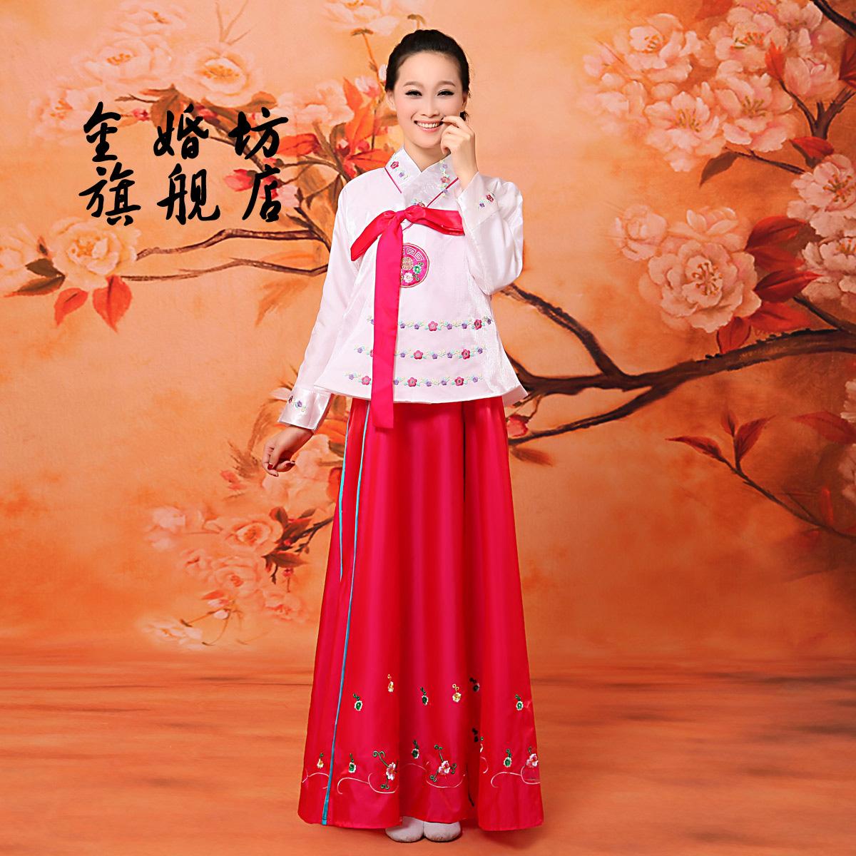 Корейские национальные костюмы сшить