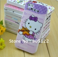 Free shipping.For iphone 5 case.Hello kitty New cute TPU soft back case smart cover for Apple iphone 5/5G.Wholesale.