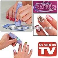 NEW Salon Express Nail Art Kit Stamping Art Set TV Hot Sales Fashion Dropshipping