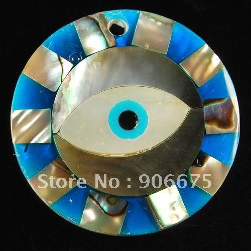 Free Shipping! Fashion Colorful MOP Abalone Shell Jewelry Circle Eye Pendants Beads for Earrings Necklace Making Wholesale(China (Mainland))