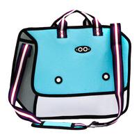 3d  cartoons  fish  handbag messenger bag