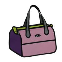 3d cartoons bag fashion women's handbag canvas bag top bag
