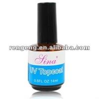 UV Topcoat Nail Top Coat Acrylic Nail Art Gel Polish Gloss