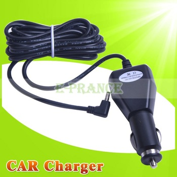15pcs/ lot  long DC Plug Car Charger Travel Charger for DVR198 DVR189 DVR127 DVR227 DVR027 Car DVR Charger