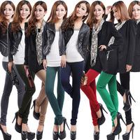 2014 Winter fashion denim legging  velvet thickening lining women's warm legings/jeans/pants/trousers