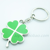 clovers keychain cute key ring for women novelty items innovative gadget trinket souvenir christmas gift promotional keychain