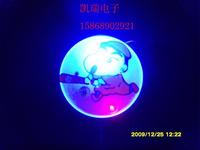free shipping 25pcs/lot flash brooch led brooch xiongpai corsage badge led flasher gift
