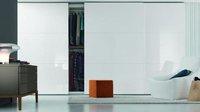 Fashion high gloss wardrobe with sliding door