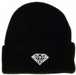 Diamond Supply Co Beanie hats most popular sports caps wholesale & dropshipping 2 colors black and Red(China (Mainland))