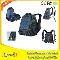 12000mAh Hotsale solar backpack for Laptop