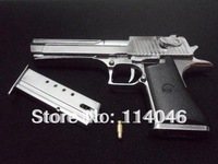 Free shipping 1:2.5 Desert Eagle gun, toy handgun model for sale