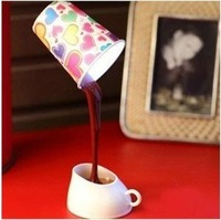 Novelty DIY LED Night Lamp Table Home Decoration Romantic Coffee Usb Or Battery Promotion Christmas Gifts Freeshipping