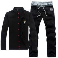 Free shipping fashionable men's wear man leisure suit men sport suit  9901