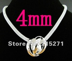GY-PN171 Free shipping 925 silver fashion jewelry chains necklace 925 sterling chains silver necklace gfma owta xoca(China (Mainland))
