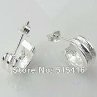 GY-PE056 Free shipping wholesale 925 silver earrings, 925 sterling silver jewelry, fashion jewelry earring aqfa jhma ryva
