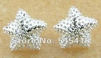 GY-PE049 Free shipping wholesale 925 silver earrings, 925 sterling silver jewelry, fashion jewelry earring apya jhfa ryoa