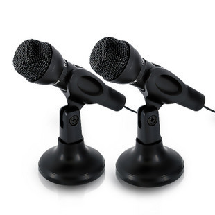 Jiahe cm-211 computer ring karaoke ok microphone belt mount