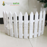Min.Order is $15 (mix order) Christmas tree decoration 30cm 12cm patchwork plastic fence 1.2m Christmas decoration 50g