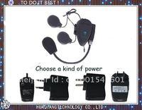 500M MP3 Connection,FM Radio,Motorcycle Interphone, Helmet Headset, Bluetooth Helmet Intercom Free shipping
