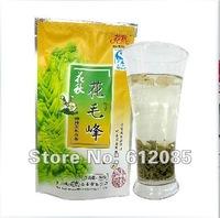 Free Shipping 2012 Early Spring Green Tea with jasmine Hua Mao Feng Huangshan Maofeng 500g Fresh Tea,Yellow Mountain Fur Peak