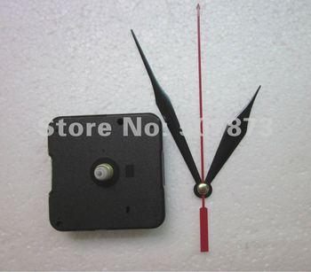 Wholesale and Retail 5PCS/lot Quartz Clock Movement Kit Spindle Mechanism shaft 12mm with hands BJ017