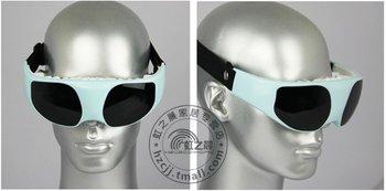 Eye care massage device with DC/AC power vibration release many massage modes