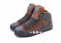 New winter thickening lambs wool snow boots male models