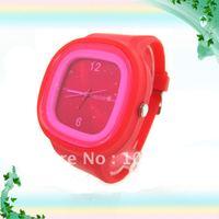 Fashione silicone jelly watch