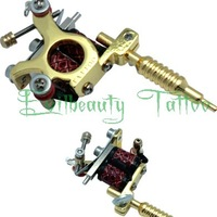 TOP HOT Pendant Mini Tattoo Machine Gun Toy Collector Free Gift Chain Supply
