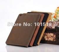 "5pcs/lot&free shipping Shine PU Leather Case Cover Skin For Apple Ipad MINI 7""tablet"