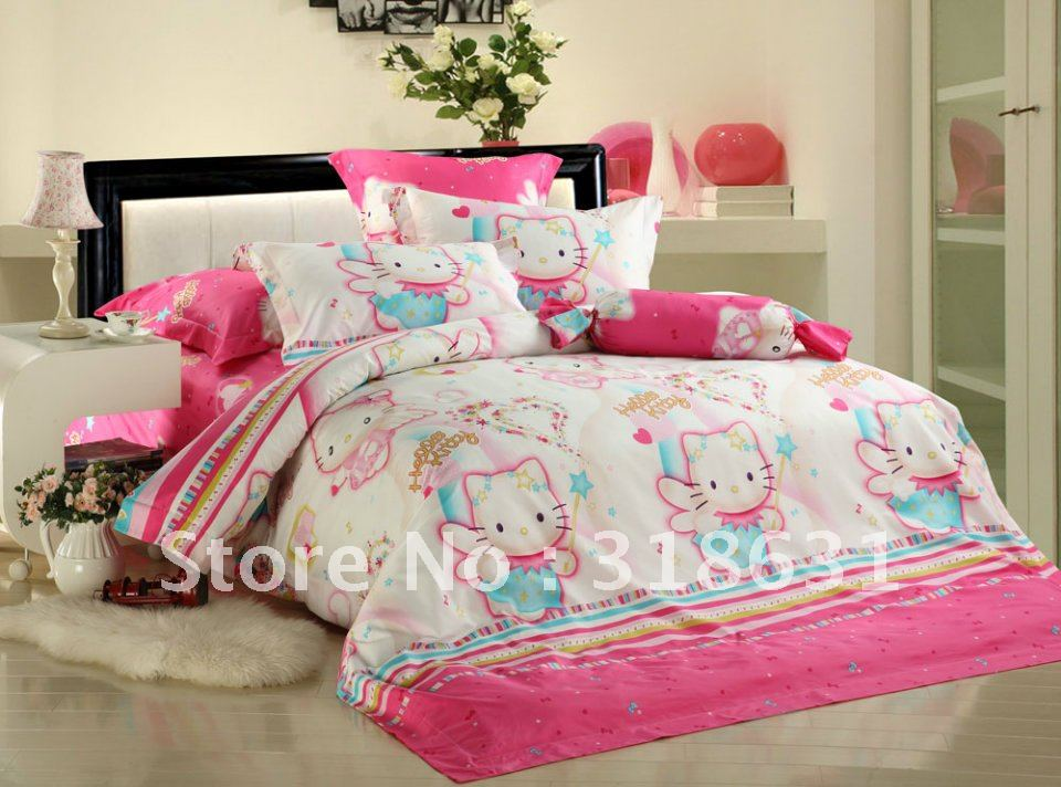 Shop Popular Hello Kitty Bedroom Sets from China | Aliexpress