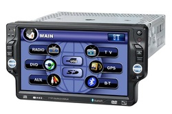7 inch 1 Din Car DVD Player with TV+GPS+Ipod+DVB YT-171(China (Mainland))
