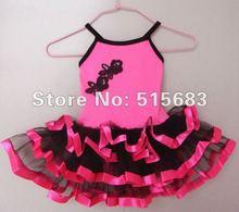 Wholesale Girls Dance Dress Sleeveless Leotard Ballet Tutu Skate Party Show Skirt 3 8Y Choose Size