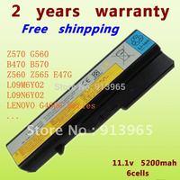 NEW +Laptop battery For lenovo  L09S6Y02,IdeaPadB475,IdeaPadG56,B475,B570,G460,G460A,G460L,G465,G470,G475,G560,G565,G570,G575