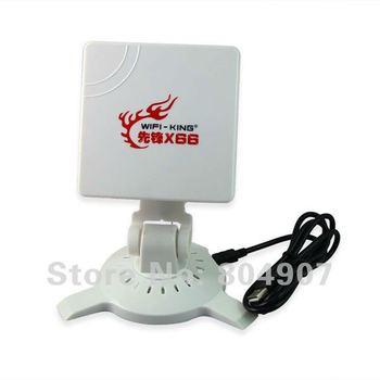 China Wholesale Wireless LAN Dongle Antennas Clipper b/g USB Adapter Ralink 3070 38dBi 3800mW High-Power Wifi Wifi-king X66