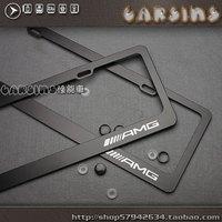 Amg license plate frame Registration Plate Holder